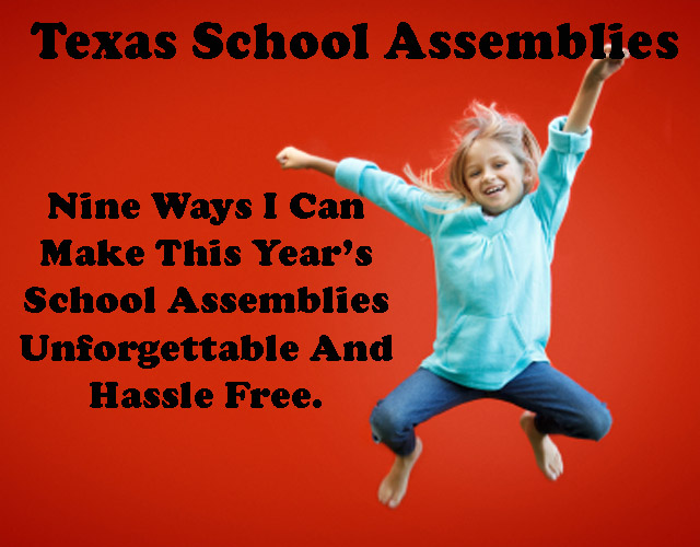 9 things texas school assemblies